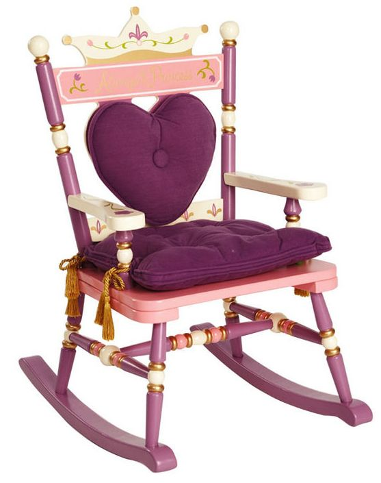 Royal Rocking Chairs Princess Toddlers Treasures