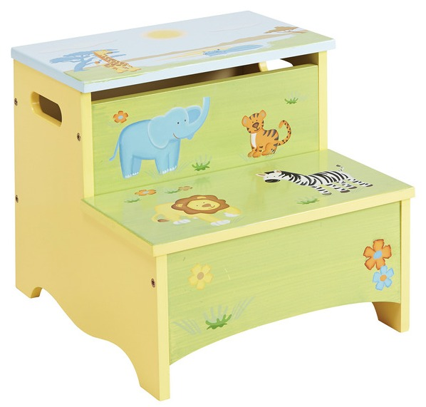 Sensational Savanna Smiles Storage Step Stool Beatyapartments Chair Design Images Beatyapartmentscom
